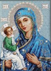 Набор для вышивки крестом Божья Матерь Иерусалимская Luca-S BR114