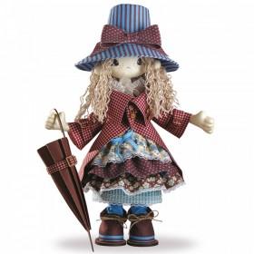 Набор для шитья куклы Мэри, , 957.00грн., К1027, KUKLA NOVA, Наборы для шитья кукол