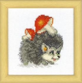 Набор для вышивки крестом Хозяйственный ежик Cristal Art ВТ-018 - 48.00грн.