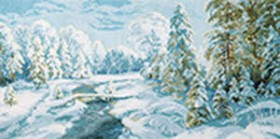 Набор для вышивки крестом Зимний иний Чарiвна мить (Чаривна мить) М-366 - 519.00грн.