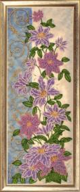 Набор для вышивки бисером Панно с клематисами Баттерфляй (Butterfly) 156Б - 396.00грн.