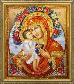 Набор для вышивки бисером Жировицкая икона Божьей Матери Картины бисером Р-286 - 1 287.00грн.