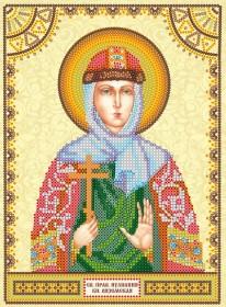 Схема для вышивки бисером на холсте Святая Иулиания (Ульяна)