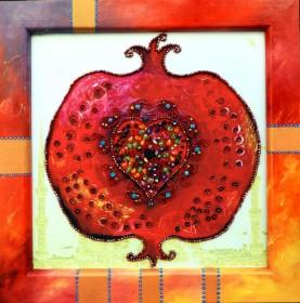 Набор для вышивки бисером Плод Богов