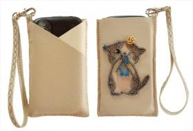 Чехол для телефона для вышивки бисером Котенок