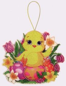 Набор для изготовления куклы из фетра для вышивки бисером Цыпленок Баттерфляй (Butterfly) F052 - 54.00грн.