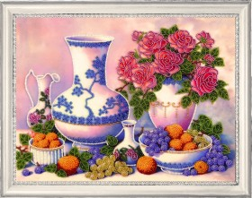 Набор для вышивки бисером Розы и виноград Баттерфляй (Butterfly) 175Б - 315.00грн.