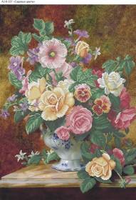 Схема для вышивки бисером на габардине Садовые цветы Acorns А2-К-557 - 144.00грн.