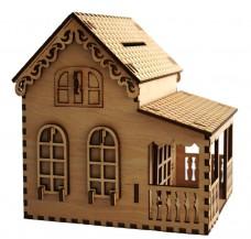 Набор -деревянный конструктор Копилка на Дом Чарiвна мить (Чаривна мить) F-001