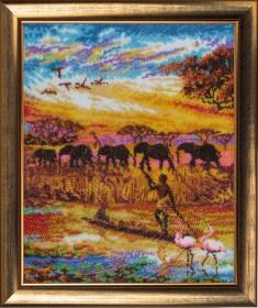 Набор для вышивки бисером Африка часть 2