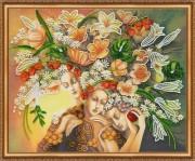 Набор для вышивки бисером Богини цветения