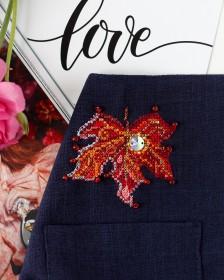Набор для вышивки крестом на одежде Капелька солнца - 1 Абрис Арт АНО-011 - 156.00грн.