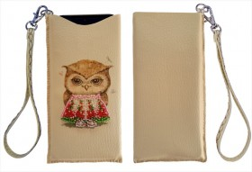 Чехол для телефона для вышивки бисером Совушка Баттерфляй (Butterfly) LB 063 - 230.00грн.