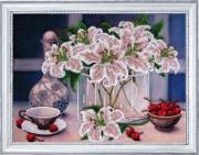 Набор для вышивки бисером Натюрморт с вишнями