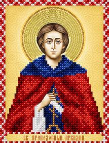 Схема для вышивки бисером на атласе Св.Преподобный Аркадий А-строчка АС5-155 - 34.00грн.