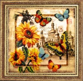Набор для вышивки бисером Привет из Украины, , 282.00грн., 114Б, Баттерфляй (Butterfly), Украина