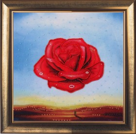 Набор для вышивки бисером Медитативная роза (по картине С. Дали)