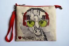 Пошитый клатч для вышивки бисером Фан-музыкант Миледи КС-002