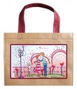 Набор - сумка Влюблённые и зайка