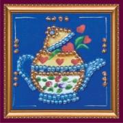 Набор - магнит Чайник на синем