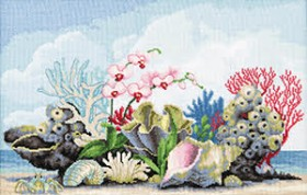Набор для вышивки крестом Коралы Чарiвна мить (Чаривна мить) М-350 - 452.00грн.