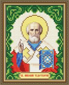 Набор для выкладки алмазной мозаикой Святой Николай Чудотворец Art Solo АТ6003 - 137.00грн.