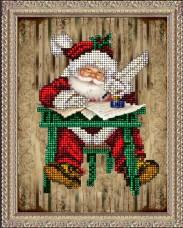 Набор для вышивки ювелирным бисером Рождественские истории 3 Краса и творчiсть 31114