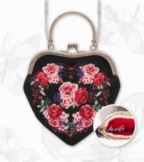 Косметичка для вышивки крестом Цветы