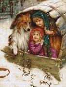 Набор для вышивки крестом Под крышей с Колли