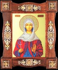 Набор для вышивки бисером Св. Наталия Краса и творчiсть 21109