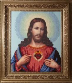Набор для вышивки бисером Иисус. Венчальная пара Краса и творчiсть 30409 - 610.00грн.