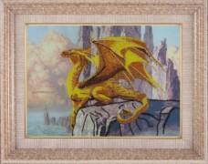 Набор для вышивки бисером Дракон Баттерфляй (Butterfly) 557Б