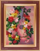 Набор для вышивки бисером Гитара