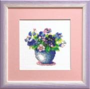 Набор для вышивки бисером Букет цветов