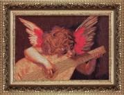Набор для вышивки крестом Ангел с лютней