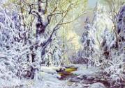Набор для вышивки крестом Зимняя сказка М.Сатаров