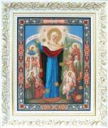 Набор для вышивки бисером Икона Божьей Матери Всех скорбящих Радость