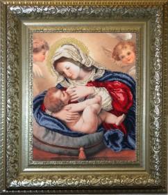 Набор для вышивки бисером Кормящая Мадонна Краса и творчiсть 30211 - 530.00грн.