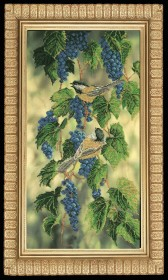 Набор для вышивки бисером Синие брызги (бисер), , 583.00грн., 21010, Краса и творчiсть, Большие наборы