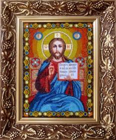 Иисус Христос Господь Вседержитель. Венчальная пара Новая Слобода (Нова слобода) СК-9001 - 528.00грн.