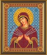 Набор для вышивки бисером Божия Матерь Семистрельная