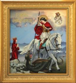 Набор для вышивки бисером Георгий Победоносец Краса и творчiсть 90911 - 637.00грн.