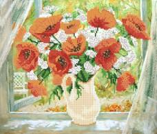Рисунок на ткани для вышивки бисером Летнее утро Марiчка (Маричка) РКП-010