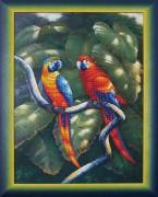 Набор для вышивки бисером Краски джунглей