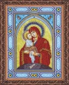 Набор для вышивки бисером  Богородица Почаевская