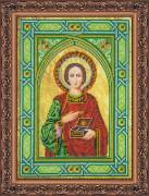 Набор для вышивки бисером  Святой Пантелеймон