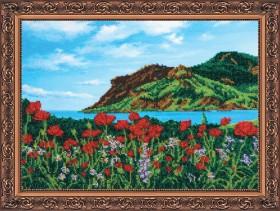 Набор для вышивки бисером Весна в Крыму