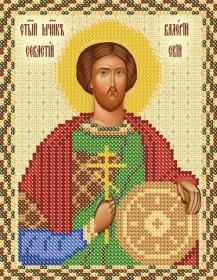 Рисунок на ткани для вышивки бисером  Святой Валерий Севастийский