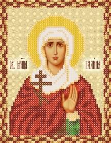 Рисунок на ткани для вышивки бисером Святая мученица Галина