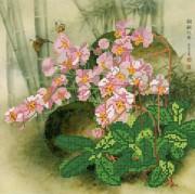 Рисунок на ткани для вышивки бисером Орхидеи